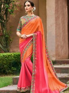 buy designer heavy work sarees in india